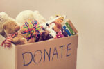 Donation box for thrift stores