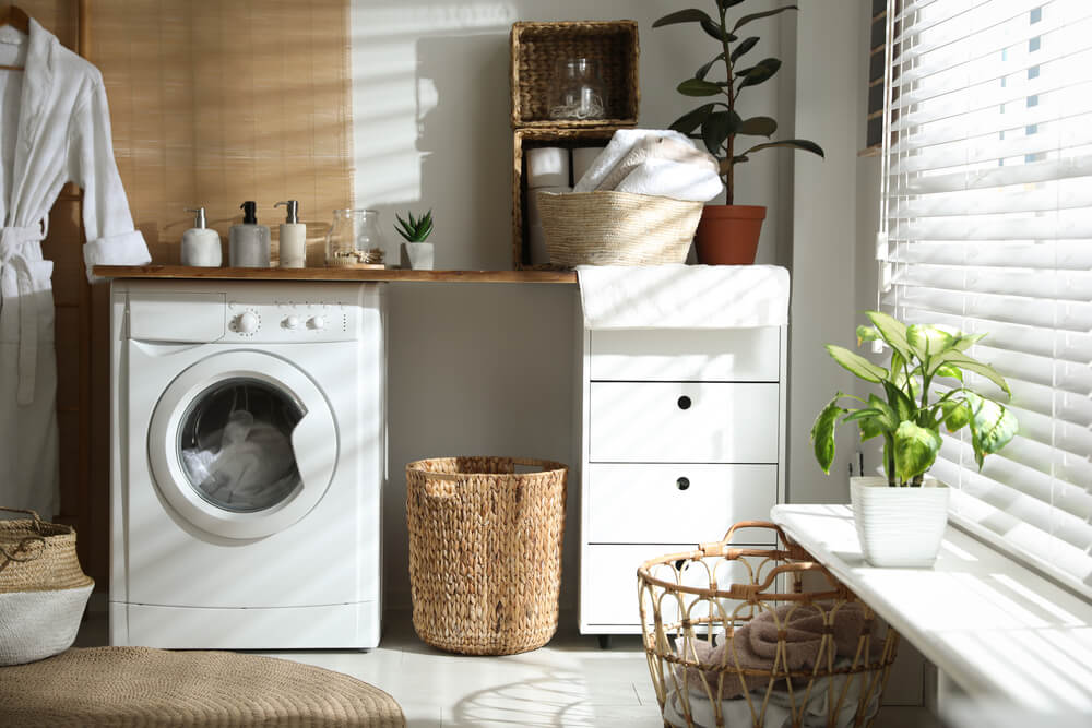 Making the most of Laundry space when living at woodsview